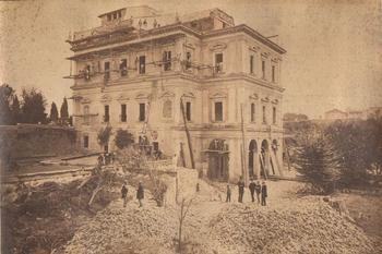 Gioacchino Altobelli, Casino Negroni della Villa Peretti Montaldo - Roma. 1868