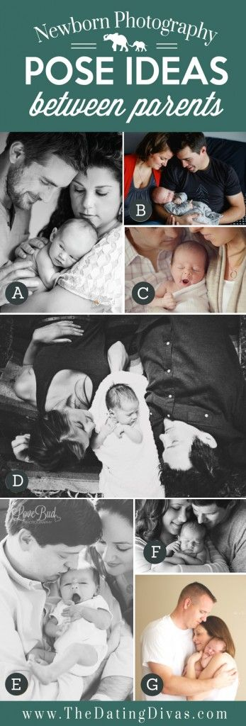 Pose Ideas for Baby between Parents