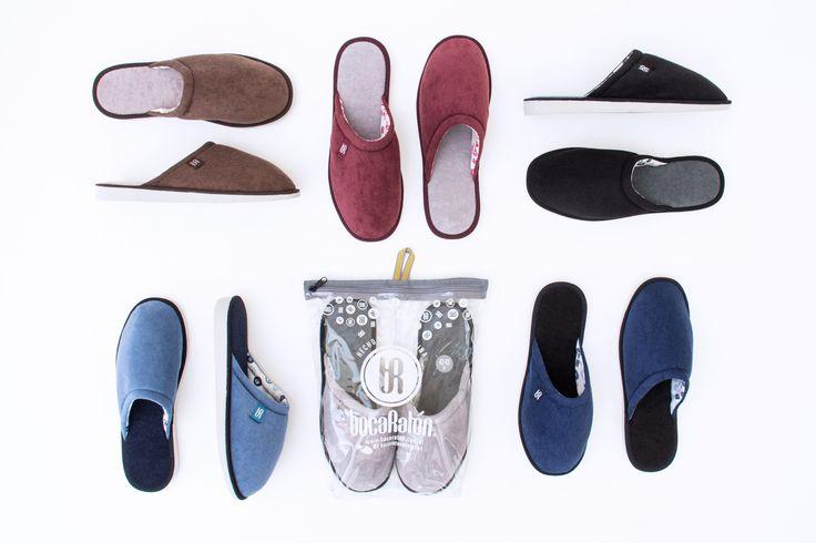 Pantuflas para Hombres - bocaRatón - Men's Slippers #pantuflas #sandalias #invierno #ropadeblanco #pijama #chinelas #calzado #boca #raton #bocaraton