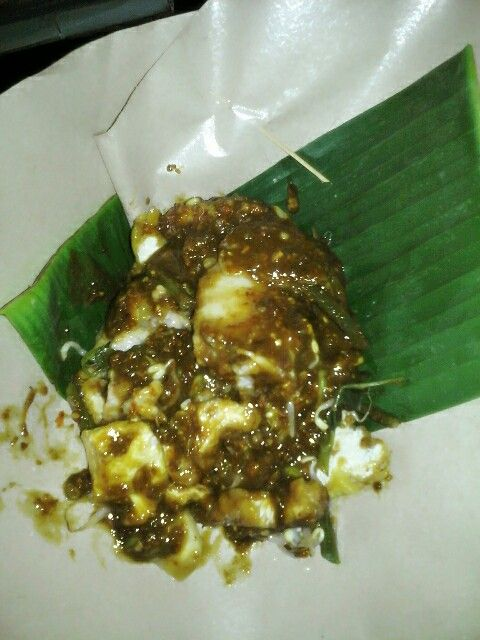 Rujak, traditional food from East Java Surabaya