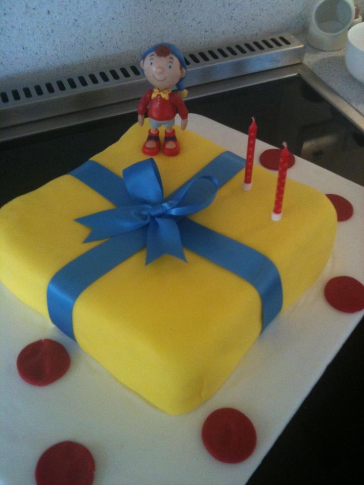 Noddy birthday cake, Maya's 2nd birthday