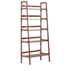 Heals - Kay + Stemmer Agnes Tall Walnut Shelves Solid Walnut Various sizes  available