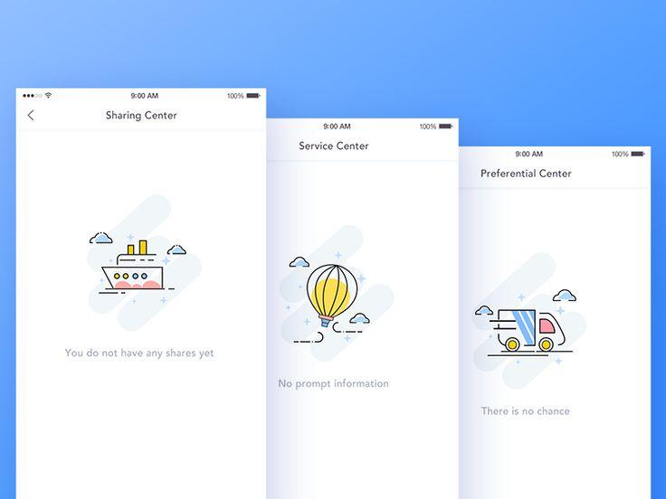 Default page design by luking #Design Popular #Dribbble #shots