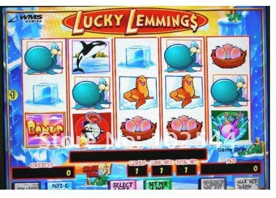 Lucky Lemmings, slot machine, soooo funny!