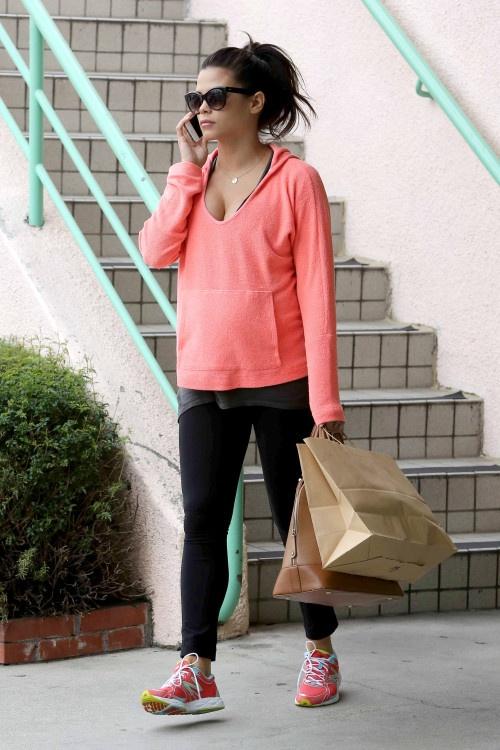 Cute workout fashion-Jenna Dewan Tatum