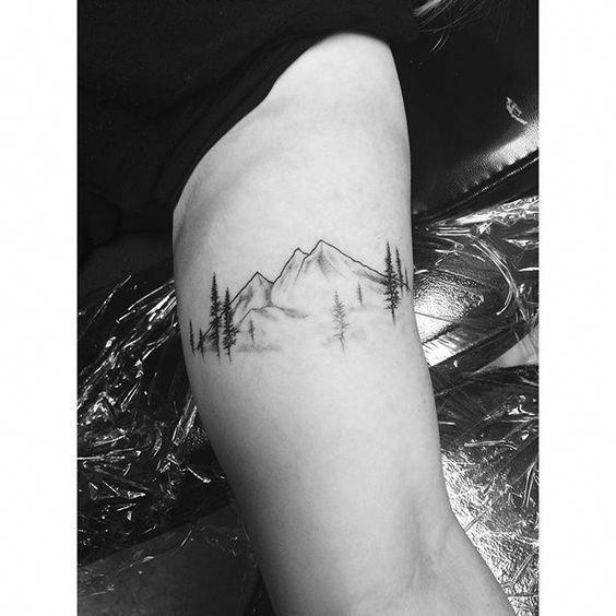 7 Bäume für meine Geschwister? #tattoodesignssimple