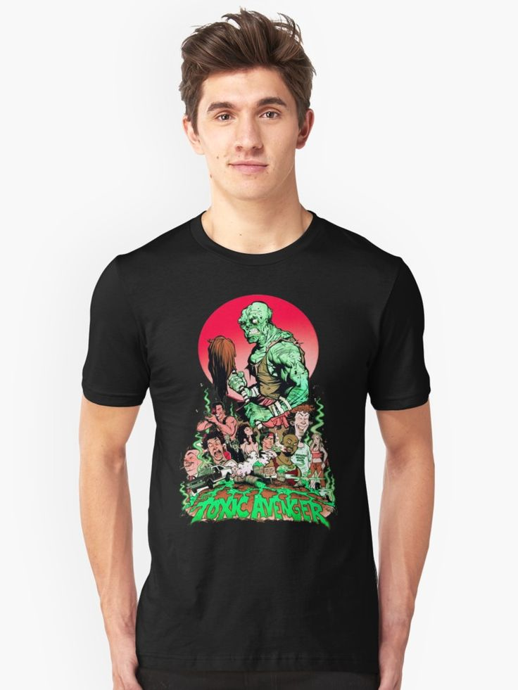 THE TOXIC AVENGER • Also buy this artwork on apparel, stickers, phone cases, and more.
