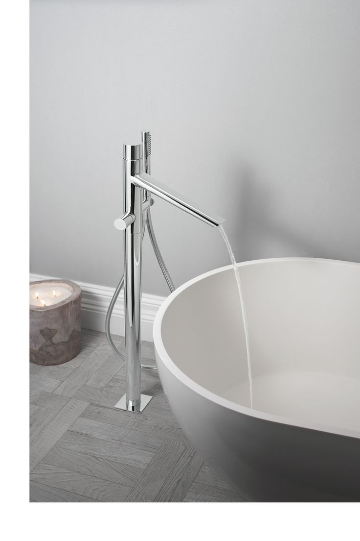 Best bathroom mixer taps - Bold Floor Mounted Bath Shower Mixer Tap With Kit From Crosswater Http