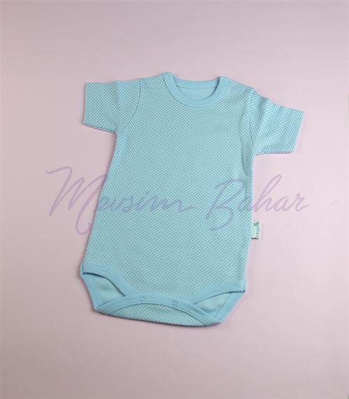 Bi Baby Puantiyeli Body Mavi