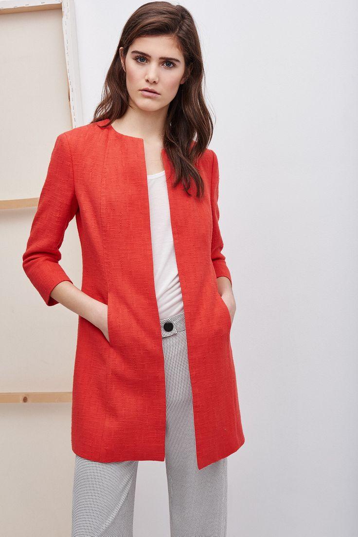 88 best queen letizia coats jackets images on pinterest for Adolfo dominguez womens coats