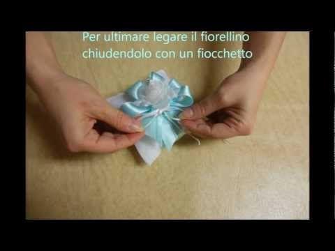 Confezionare Bomboniere...Cuscinetto Tiffany - YouTube