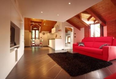 #IDEeA per un un piccolo appartamento a doppia altezza #Ciriè #Torino