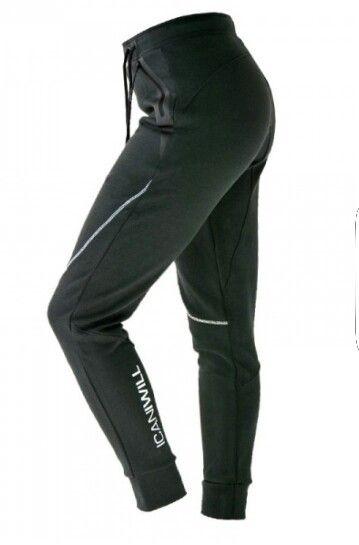 ICANIWILL perform pants black dame. Str M.