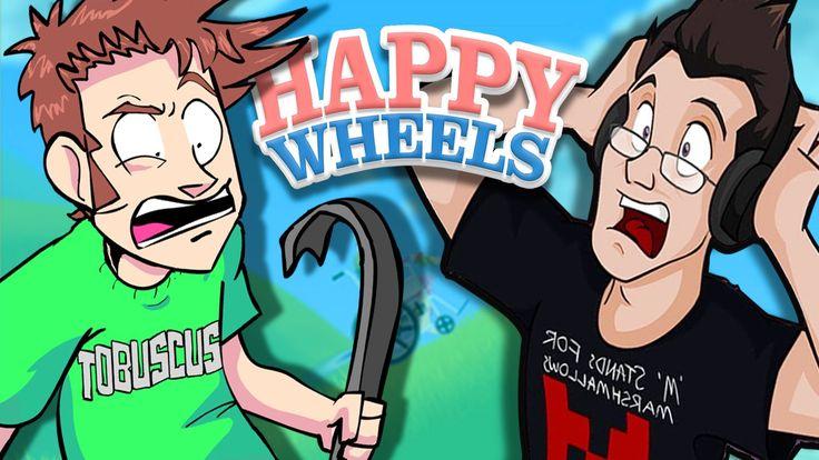Happy Wheels w/ Markiplier (Part 1)
