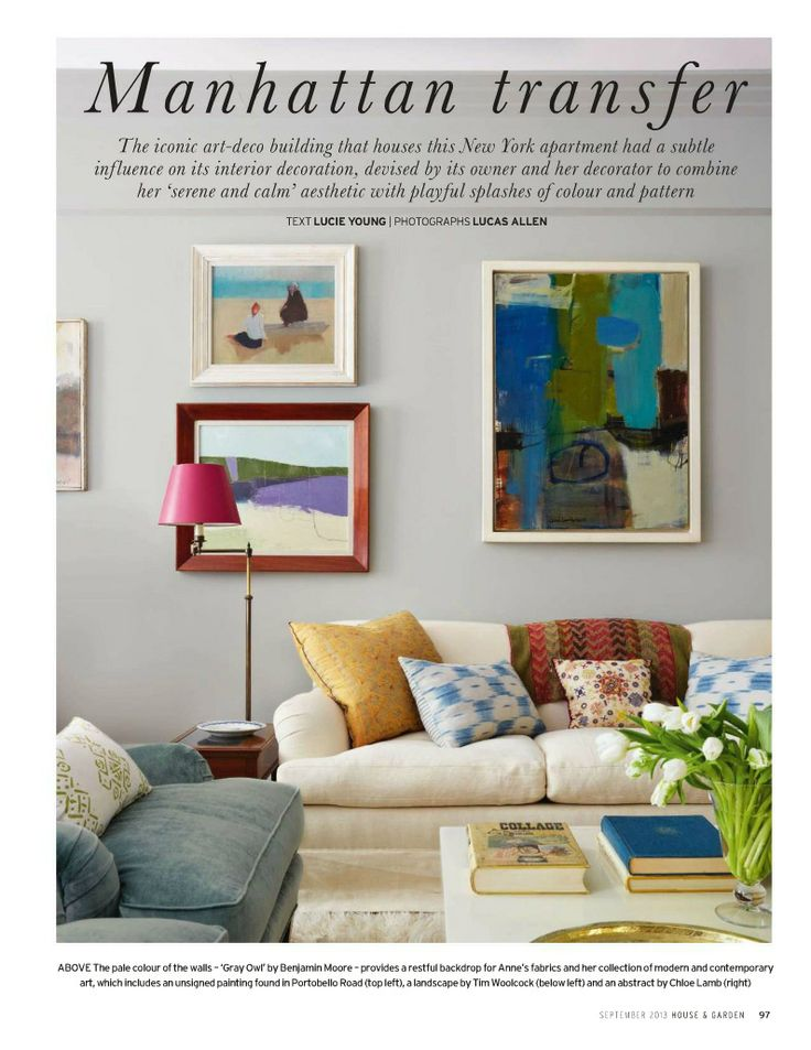 Get Inspired By All Our Living Room Design Ideas Including The Colourful Yet Calm New York Of Anne Dubbs Co Owner Blithfield Company