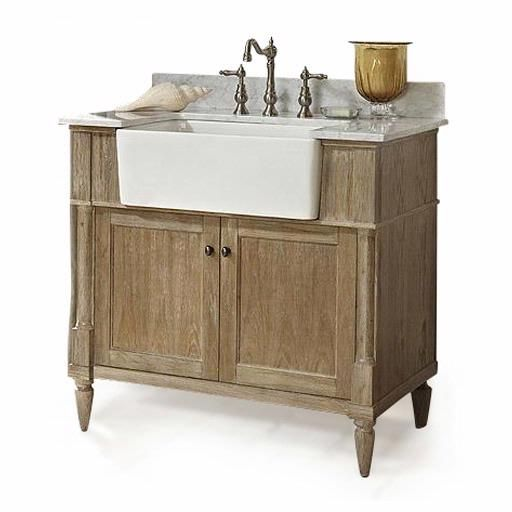 "Fairmont Designs Rustic Chic 36"" Farmhouse Vanity 142-FV36 :: Bath Vanity from Home & Stone"