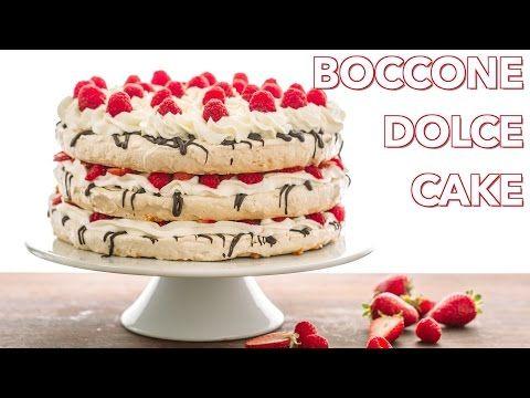 Recept na klasickú taliansku tortu Boccone Dolce Cake si zamilujete