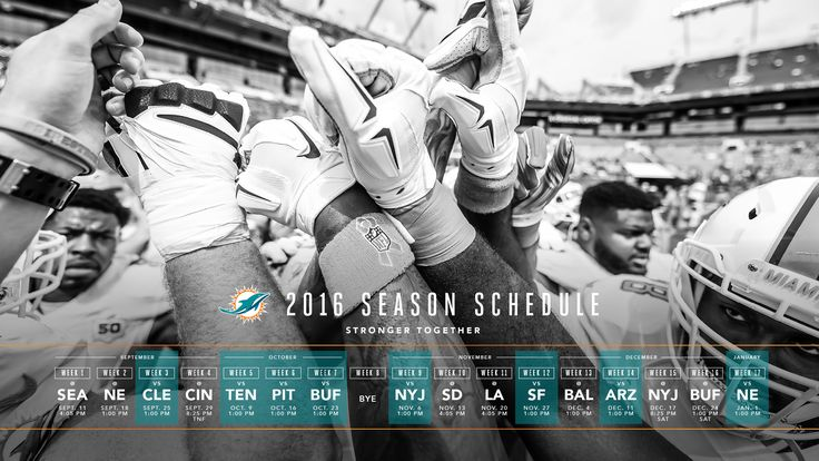 Some Brandon Moore goodness https://dribbble.com/shots/2654741-2016-Dolphins-Schedule