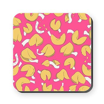 Fortune Cookies Cork Coaster from cafepress store: AG Painted Brush T-Shirts. #cookie #coaster #pattern