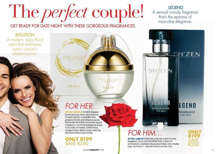Fragrance for Him and Her