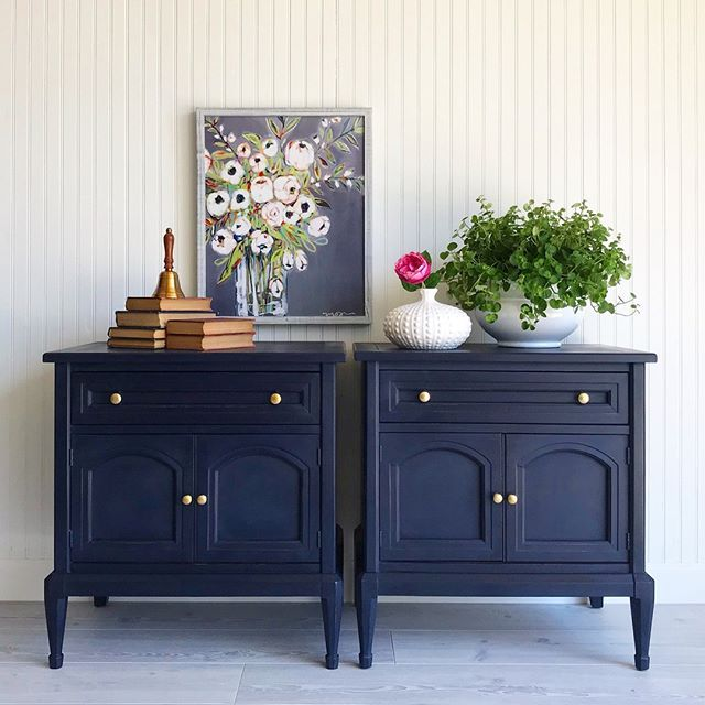 Pin On Oxford Navy, Navy Blue Furniture Paint