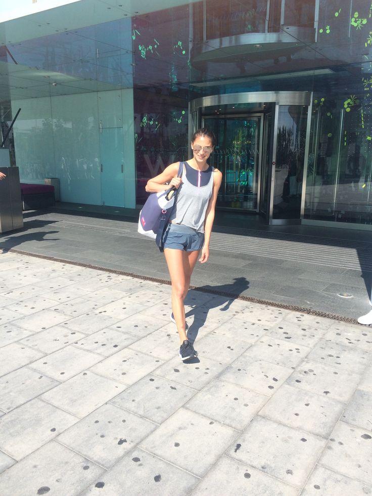 Training, Barcelona, Spain, Holmes Place, Fitness, Cardio, Aidas, AdidasStellaSport, Kale&Flex, veggie burger, juice coffee, W hotel, W hotel worldwide, gina tricot, active wear, stella sport