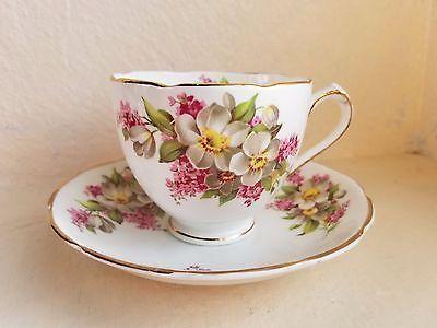Duchess Fine English Bone China Tea Cup & Saucer Set