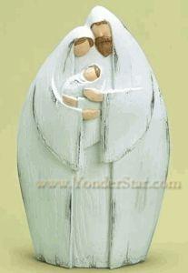 Whitewashed nativity, Yonderstar