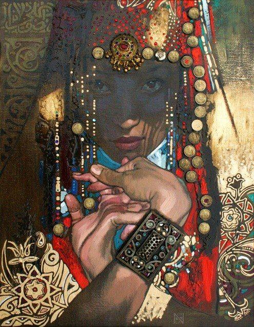 """Kelen"" Nurlan Kilibaev - Kazakh (qazaq) painter"