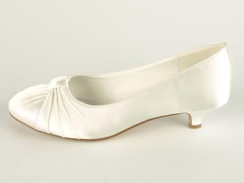 Sko - Wildflower Bridal: Celine   Utsiden av skoen 649kr