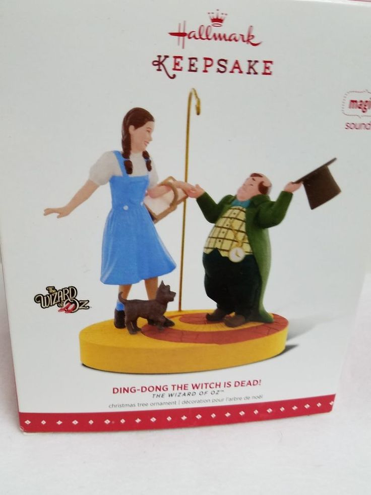 Hallmark Ornament Wizard of Oz Ding Dong the Witch is Dead 2015 Mayor Dorothy | Collectibles, Decorative Collectibles, Decorative Collectible Brands | eBay!