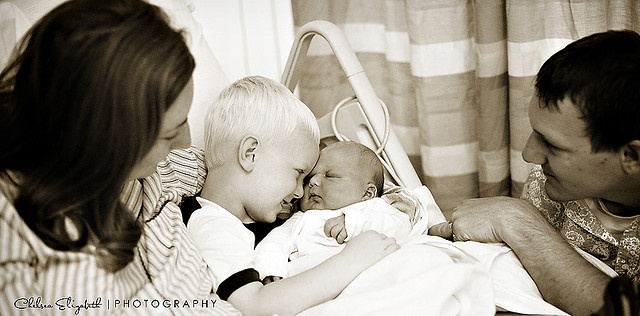 family moments with newborn and sibling introductions by Chelsea Elizabeth Photography, via Flickr