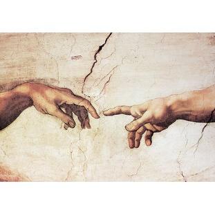 Michelangelo - Creazione di Adamo