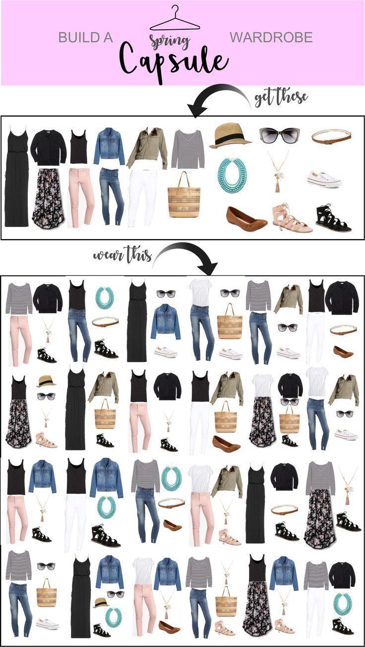 Spring Capsule Wardrobe – soeben veröffentlicht  #capsule #soeben #spring #veroffentlicht #wardrobe