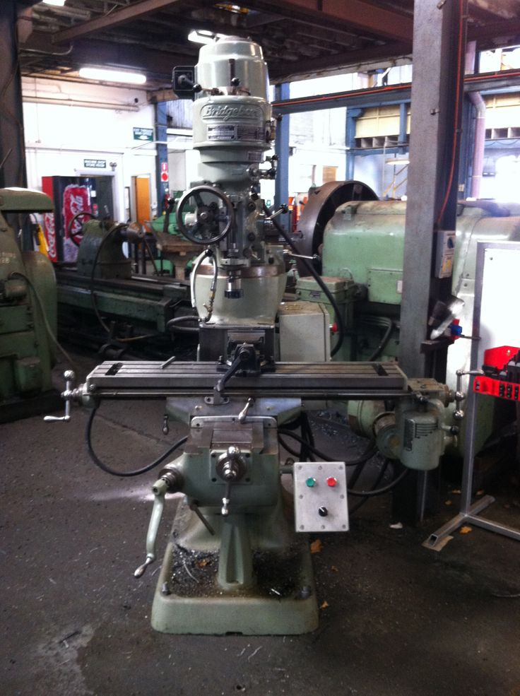 Bridgeport Milling Machine | Our Plant and Equipment ...