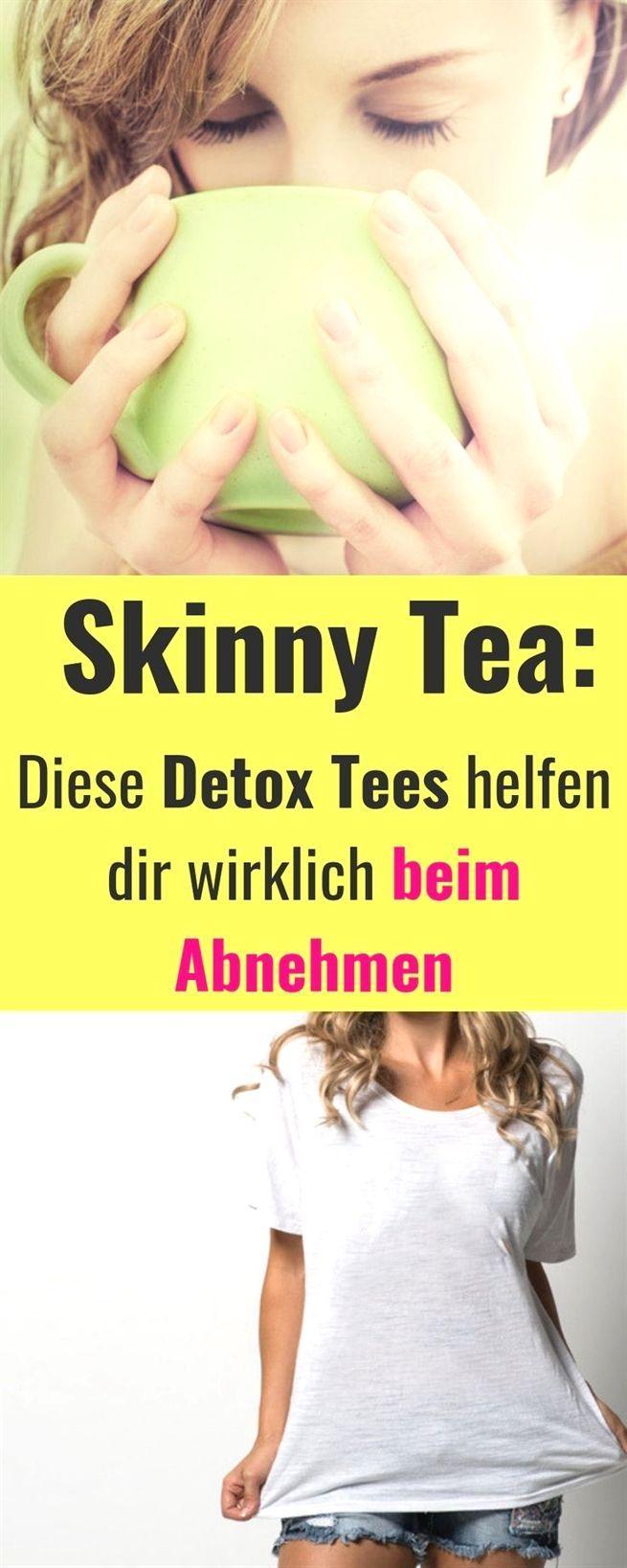 #Abnehmen mit Skinny Teas oder Detox Tee, Stoffwechsel..