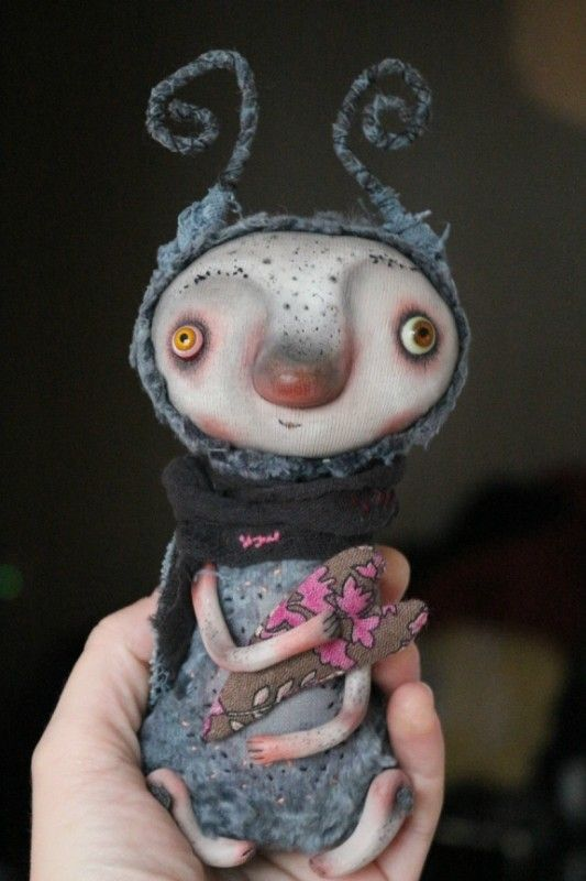 Милые и любимые Чудики, авторские игрушки от Мариночки Митиной / Авторские игрушки / Бэйбики. Куклы фото. Одежда для кукол