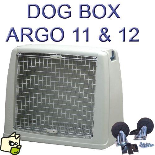 DOG BOX ARGO cage de transport automobile pour chien en largeur