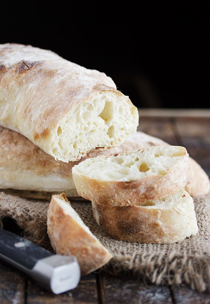 Homemade Ciabatta Bread - delicious ... and easier to make that you probably think!