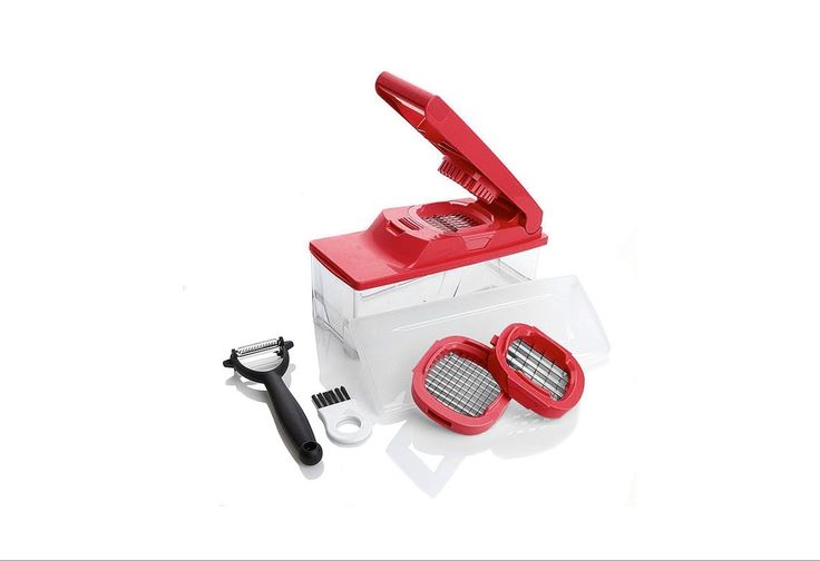 HSN | Item #211124 |Kitchen Master Multipurpose Slicer/Dicer with Peeler