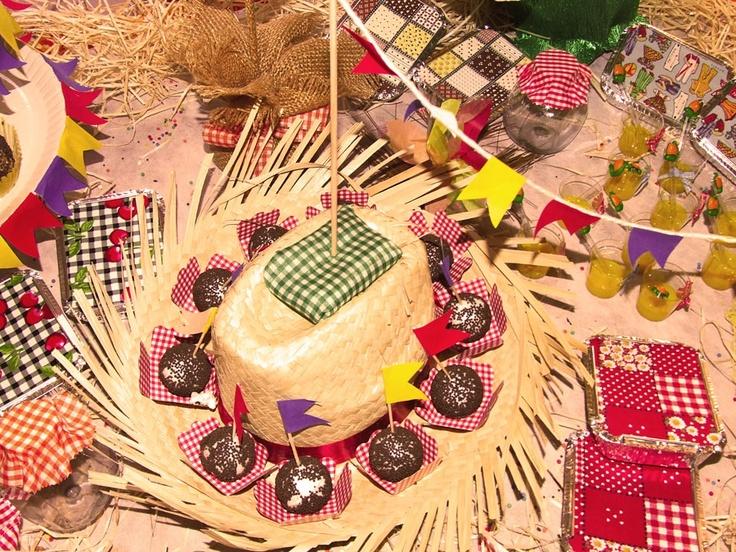 decoracao festa na roca : decoracao festa na roca:Mesa Festa Junina