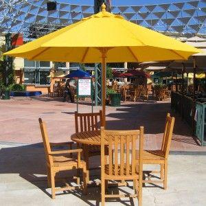 patio table umbrella wood grade