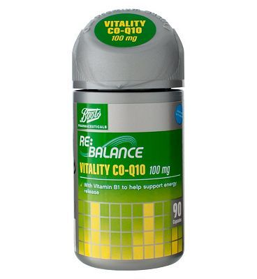 Boots Pharmaceuticals Boots VITALITY CO-Q10 100 mg 90 Capsules 10149737 76 Advantage card points. Price per capsules when purchasing 3 Boots VITALITY CO-Q10 100 mg 90 Capsules using the 3 for 2 across selected vitamins, complementary medicines and herbal products - Only £ http://www.MightGet.com/april-2017-1/boots-pharmaceuticals-boots-vitality-co-q10-100-mg-90-capsules-10149737.asp