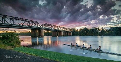 Sunset at Nepean River, Penrith NSW
