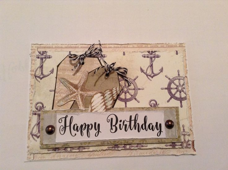 Beautiful masculine card created by me
