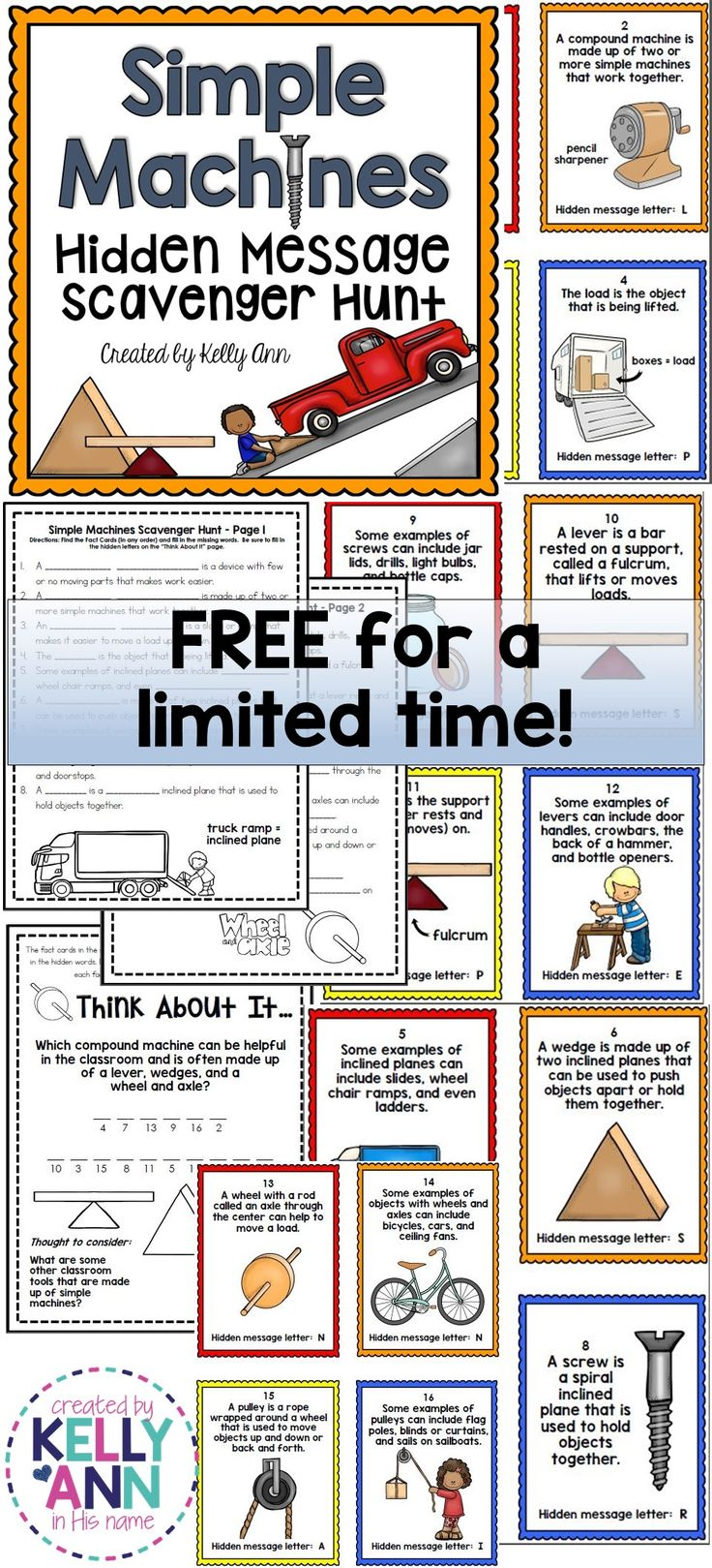 Worksheets Compound Machines Worksheet best 25 simple machines ideas on pinterest machine wheels gears and axels