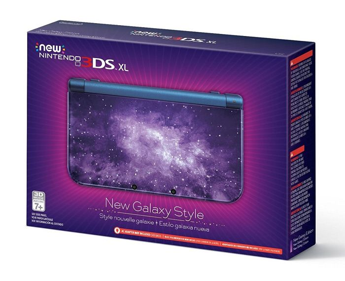 Galaxy Style New Nintendo 3DS XL Console http://geekxgirls.com/article.php?ID=7568 (Tech Aesthetic Life)