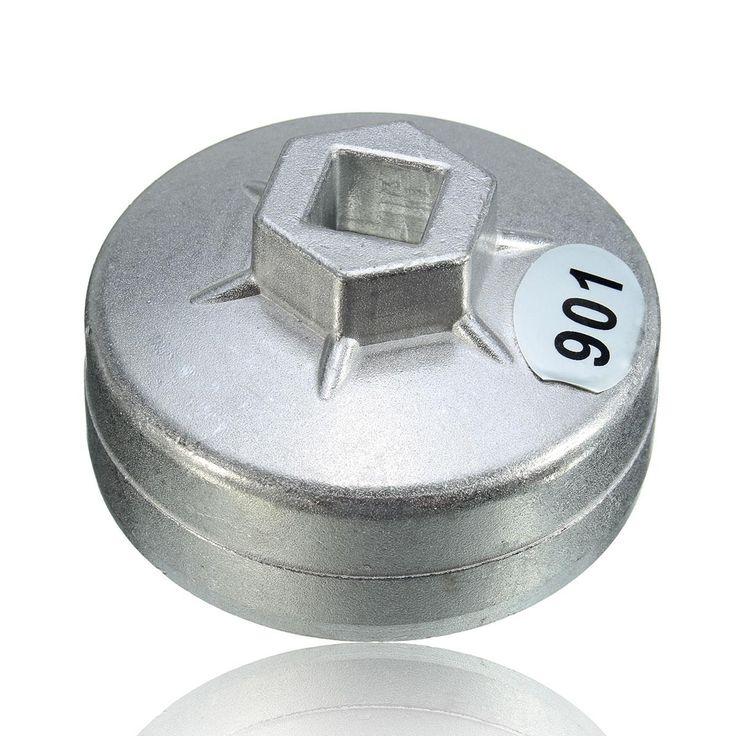 Mobil baru 1/2 drive 65mm 14 seruling end cap filter oli kunci auto alat untuk toyota/honda