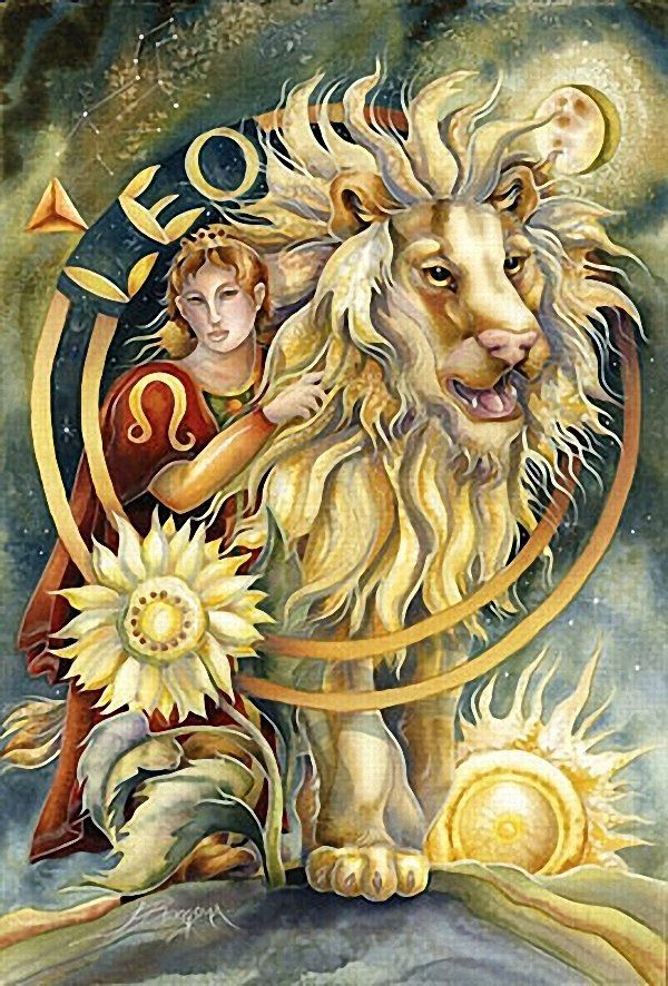 Leo with the Lion heart