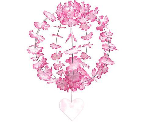 Pink Hanging Flower Sphere 10in - Birthday Decorations - Adult Birthday - Birthday Party Supplies - Categories - Party City